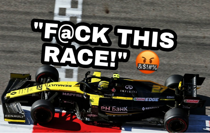 Nico Hülkenberg's Uncensored Team Radio After Russian GP