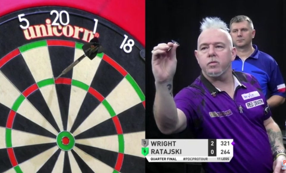 Watch Peter Wright's World Record Match With 123.50 Average