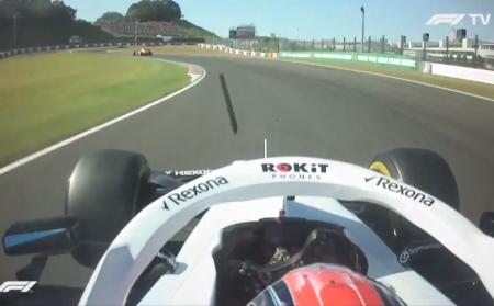 Robert Kubica Got Hit By Debris Kicked Up By Max Verstappen