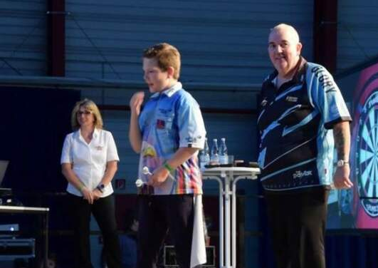 VIDEO: 13 Year Old Beats Phil Taylor At Hessen Darts Championships 2019