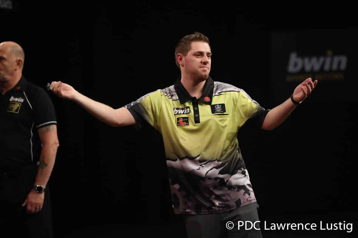 How Berry van Peer Managed To Win A Tournament With 8 Darts Leg