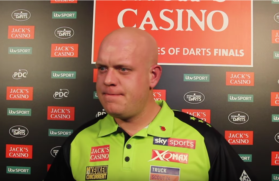 "Van Gerwen: ""Gerwyn Was Talking Next To Me, He Shouldn't Do That"""