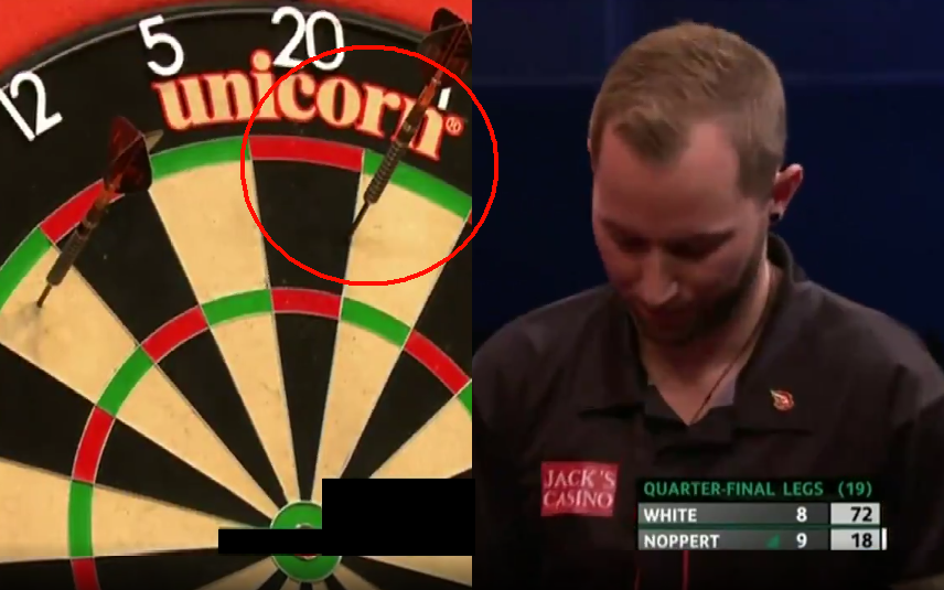 Danny Noppert's Painful Moment At Crucial Time In Quarter Final