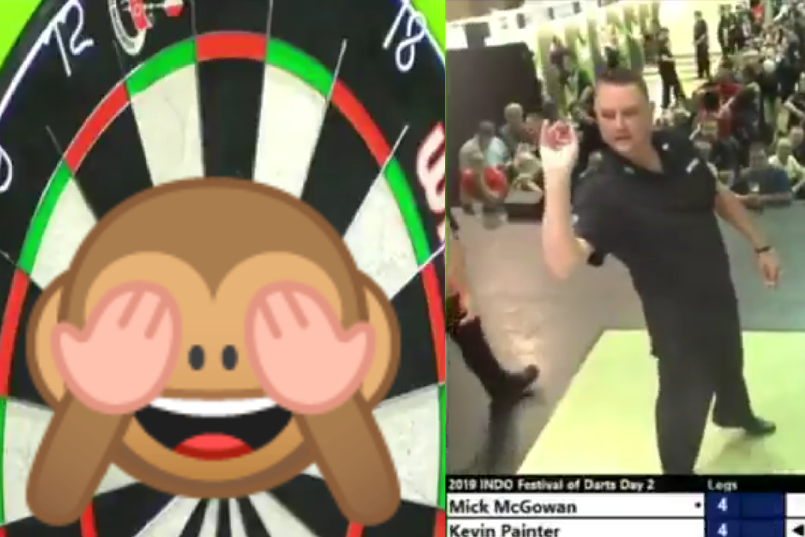 Kevin Painter Wins Match At Ireland Open With A Crazy Checkout