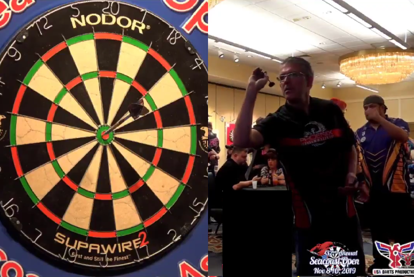 Jeff Smith Hits Bulls-Eye, Triple 16 And Bulls-Eye To Win The Match