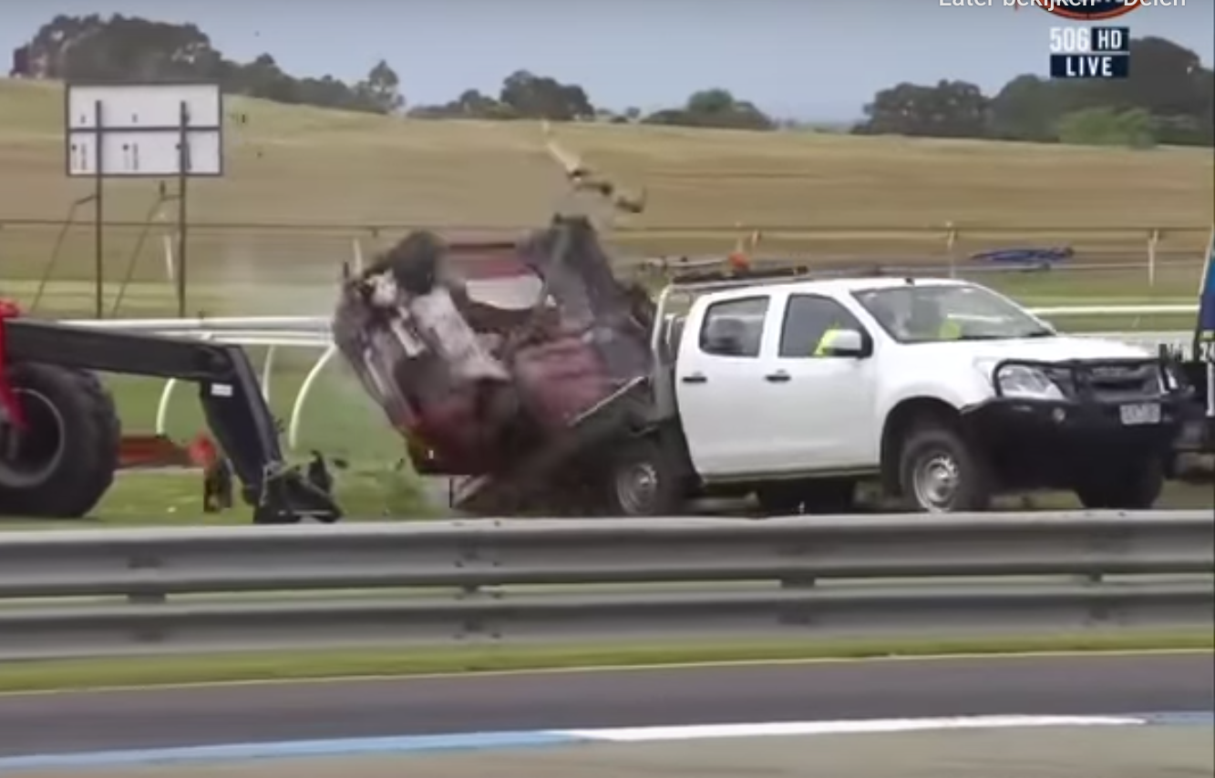 VIDEO: John Iafolla Crashed His Toyota 86 Into A Recovery Truck