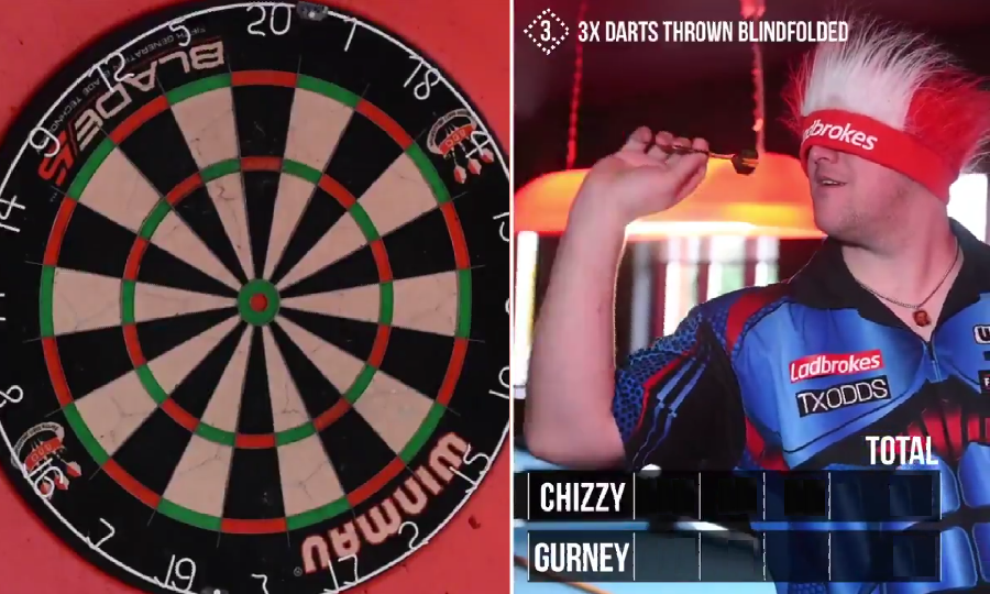 Daryl Gurney & Dave Chisnall Compete In A Crazy Challenge