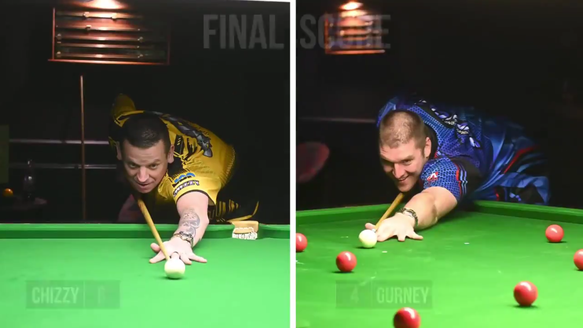 Next Gurney & Chisnall Battle: Pot As Many Balls As You Can In 1 Minute