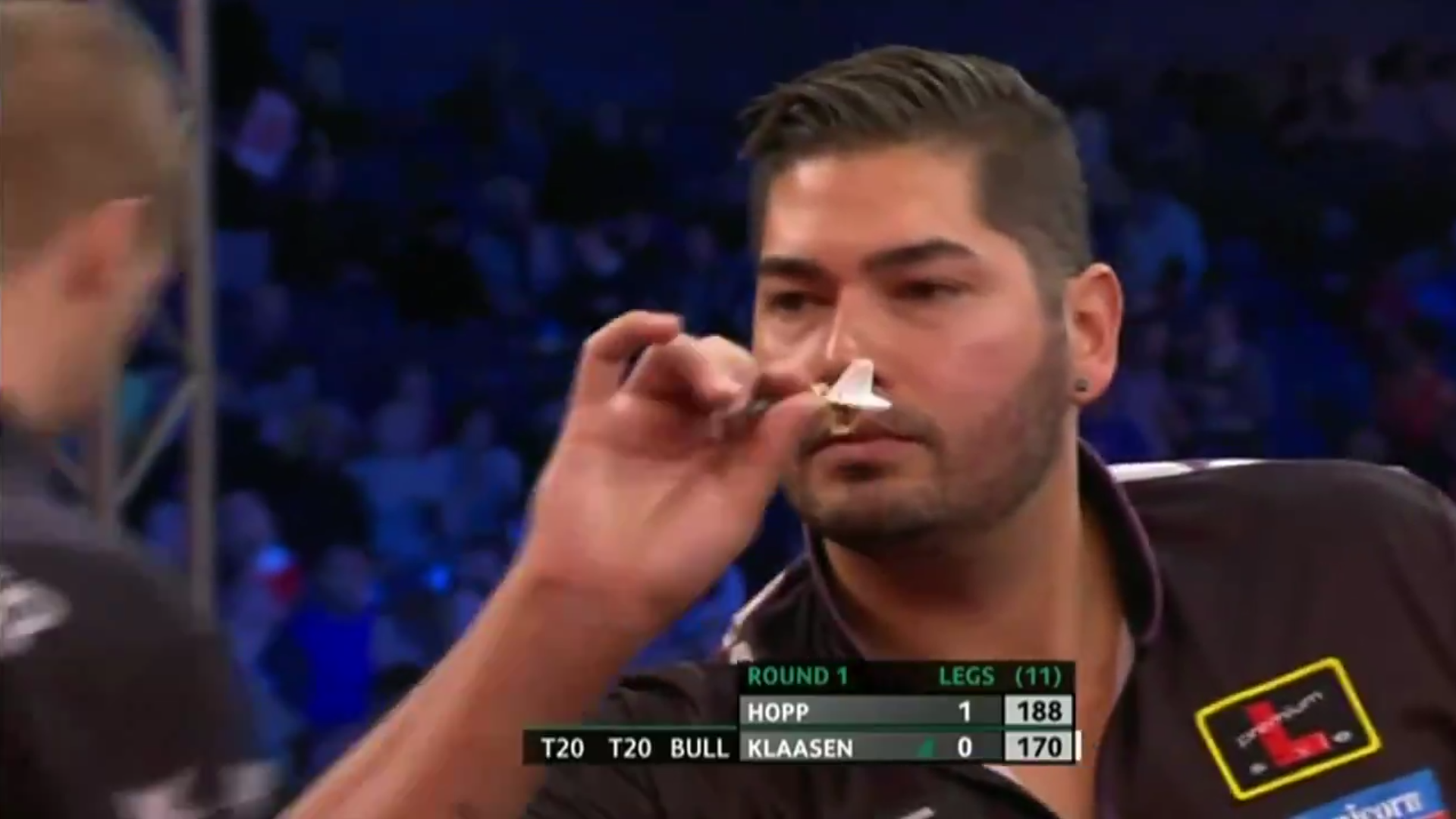 Jelle Klaasen Going For Two 170 Checkouts At Players Championship Finals
