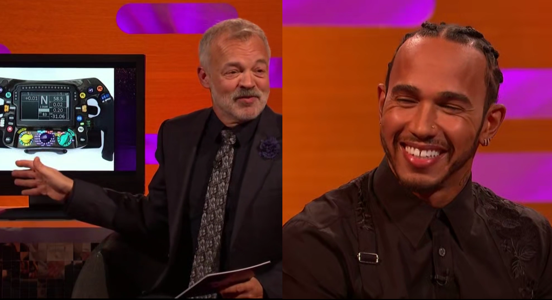 Watch Lewis Hamilton At The Graham Norton Show Last Night