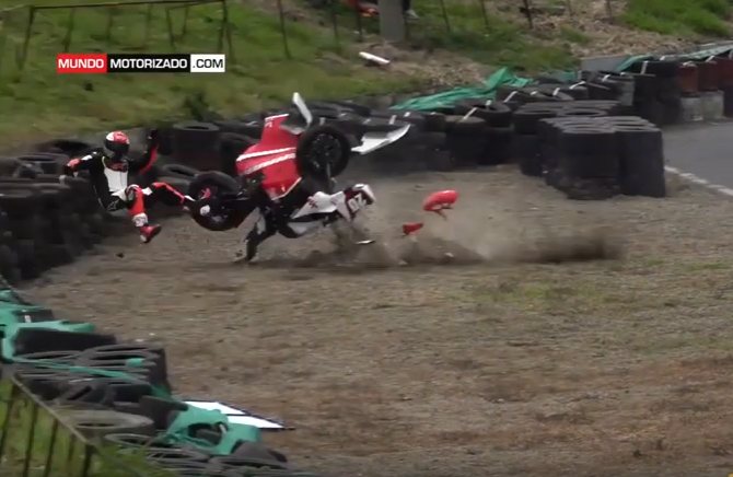 VIDEO: Horror Crash During Super Sport 1000cc in Costa Rica