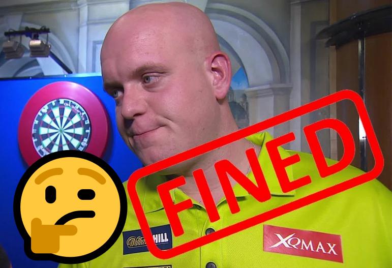 Michael van Gerwen Might Get Fined If He Deliberately Miss 9-Darter?
