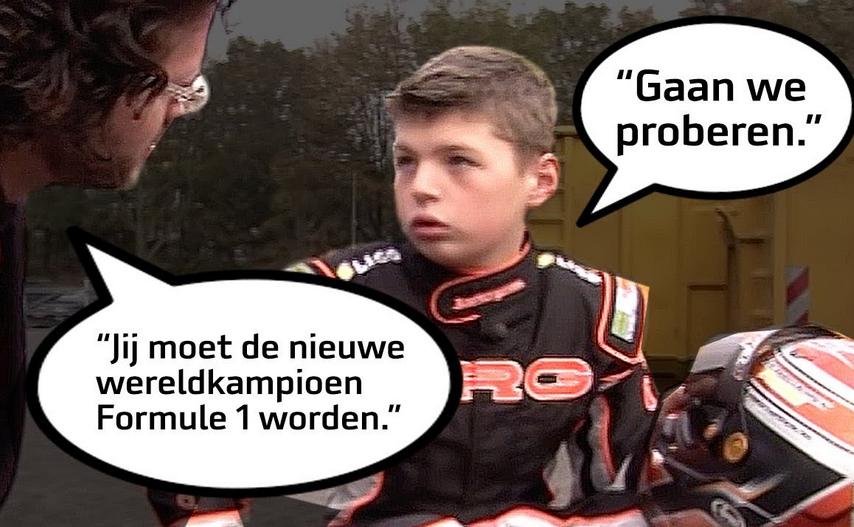 VIDEO: Interview met 12-jarige Max Verstappen (Dutch)