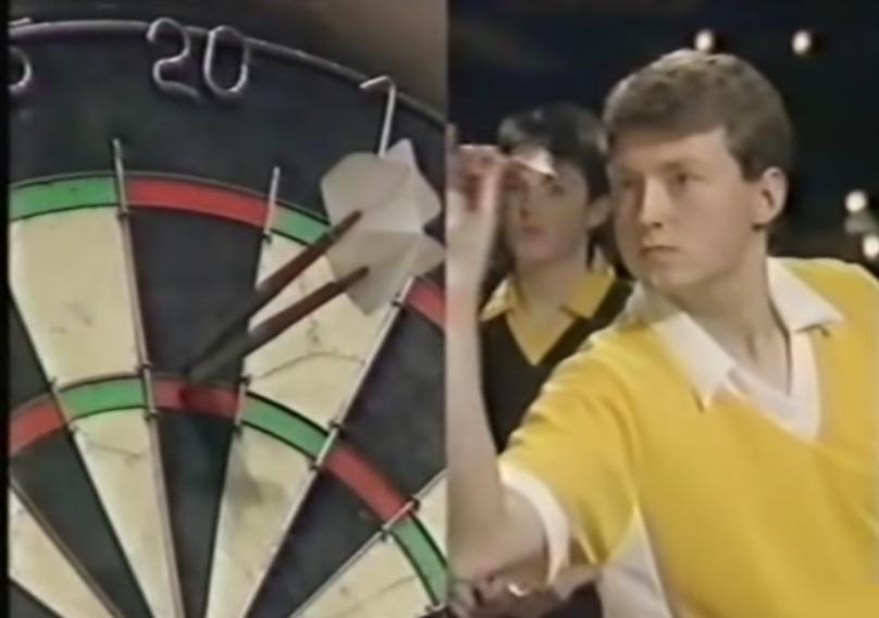 Watch 16-Year-Old Wayne Mardle Playing BDO British Youth Final