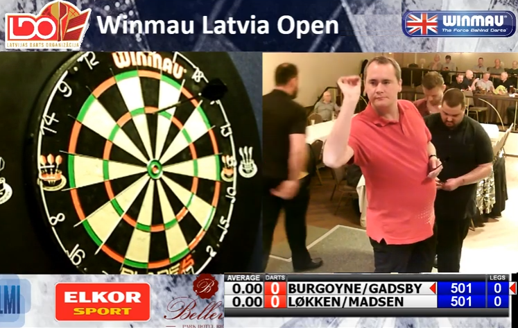 Livestream: Latvia Open 2019