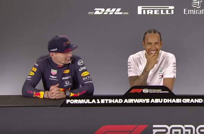 Lewis Hamilton And Max Verstappen Had Another Funny Moment After Abu Dhabi