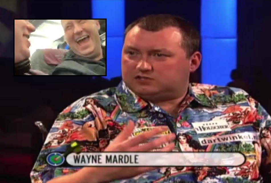 Michael van Gerwen Takes The Piss Out Of Wayne Mardle's Interview