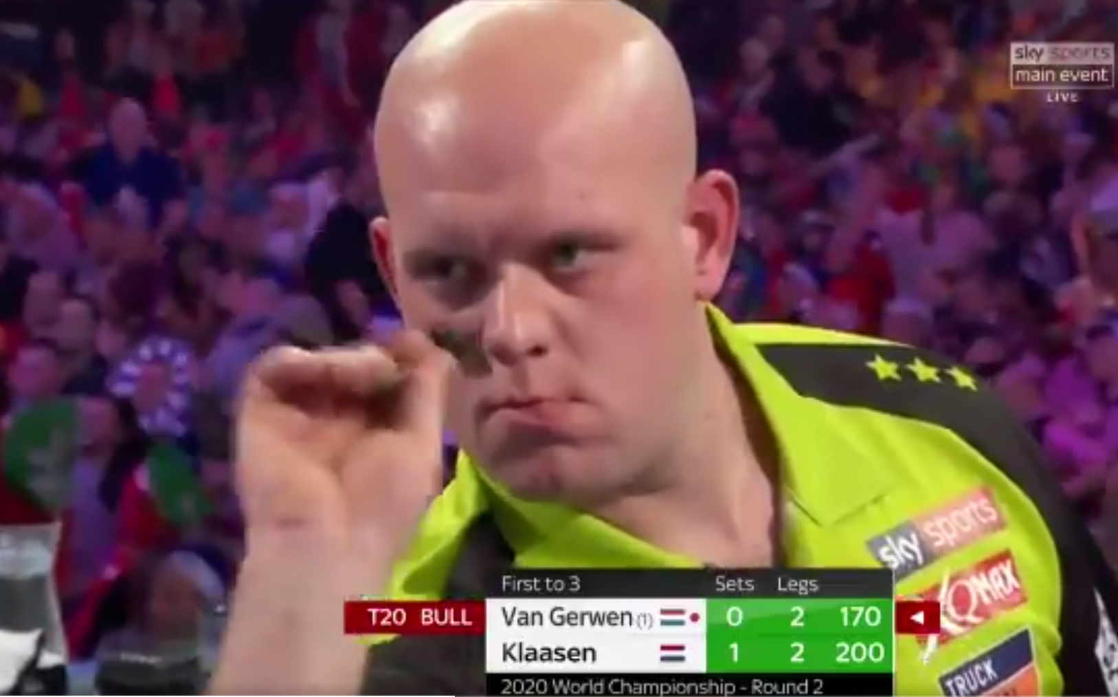 VIDEO: Michael van Gerwen Hits 170-Check Out At Crucial Moment