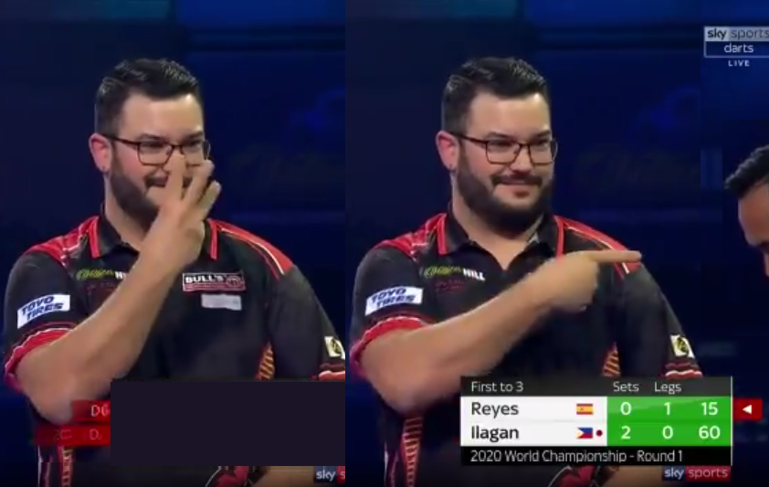 Cristo Reyes Having A Laugh At Lourence Ilagan's 120 Checkout Attempt