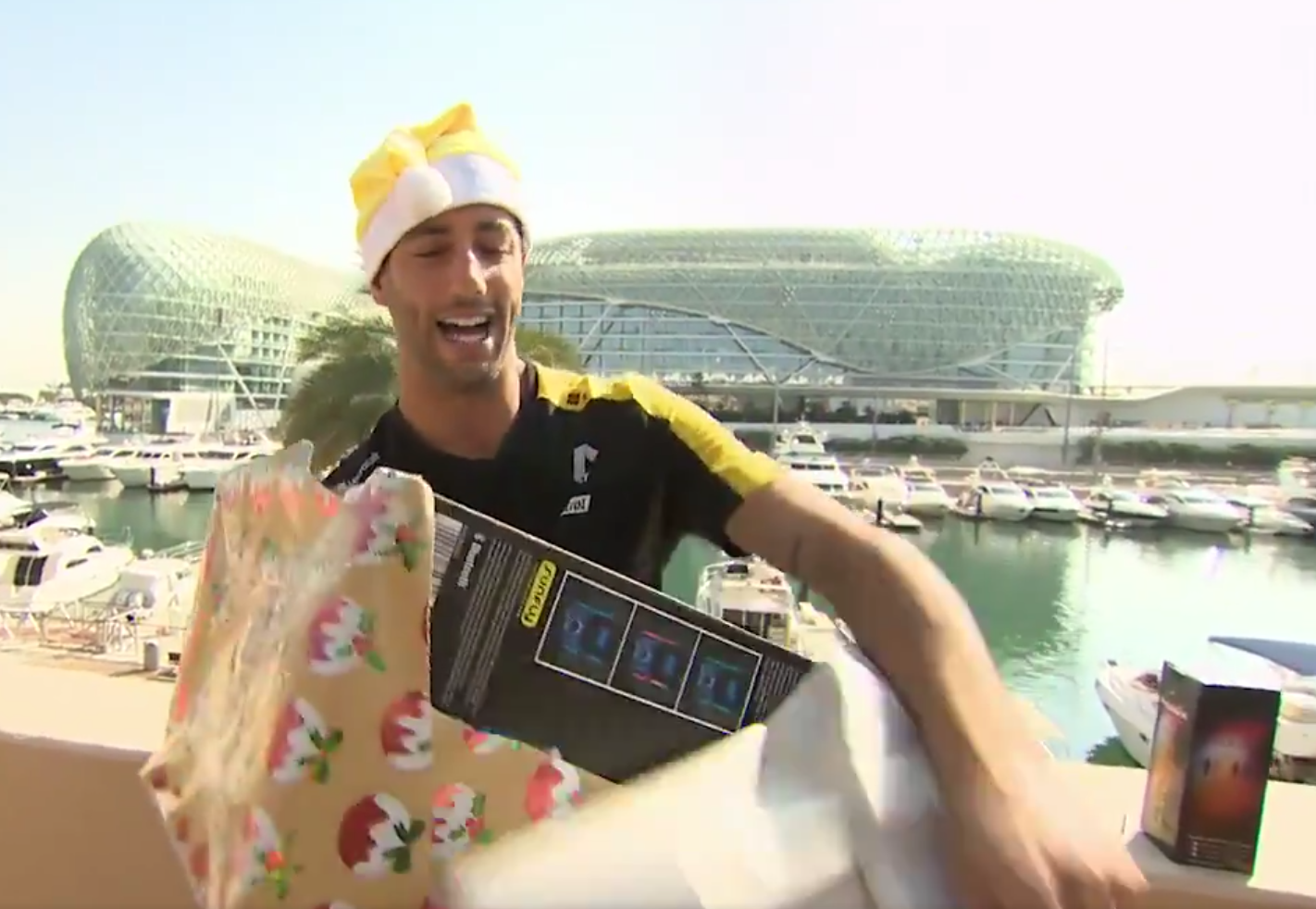 Watch Full Episode Of This Year's F1 Driver's Secret Santa 🎅