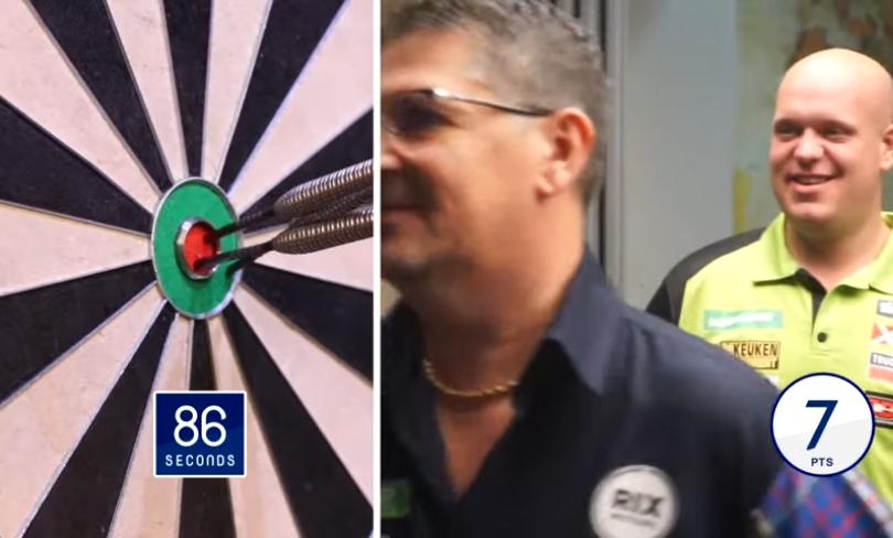 VIDEO: Van Gerwen And Anderson Take On Bulls-Eye Challenge