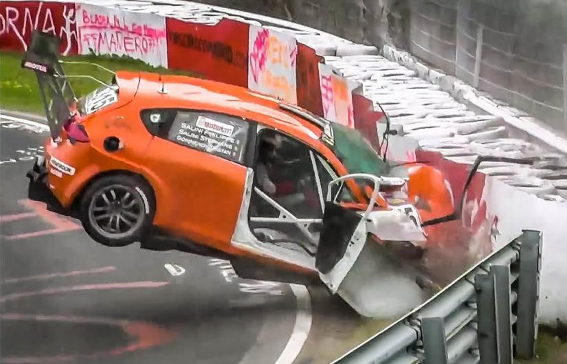 Watch Nürburgring Crash & Fail Compilation 2019