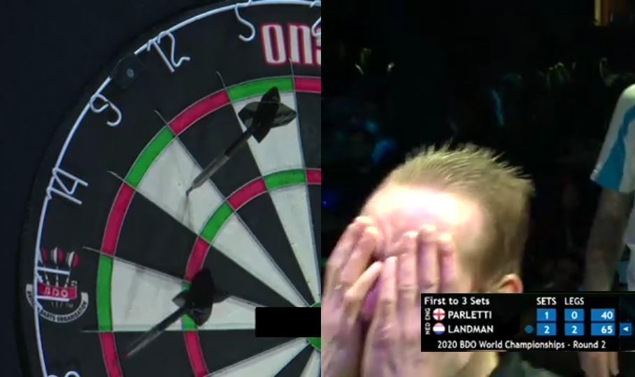 Chris Landman Thought He Won The Match But Miscounted