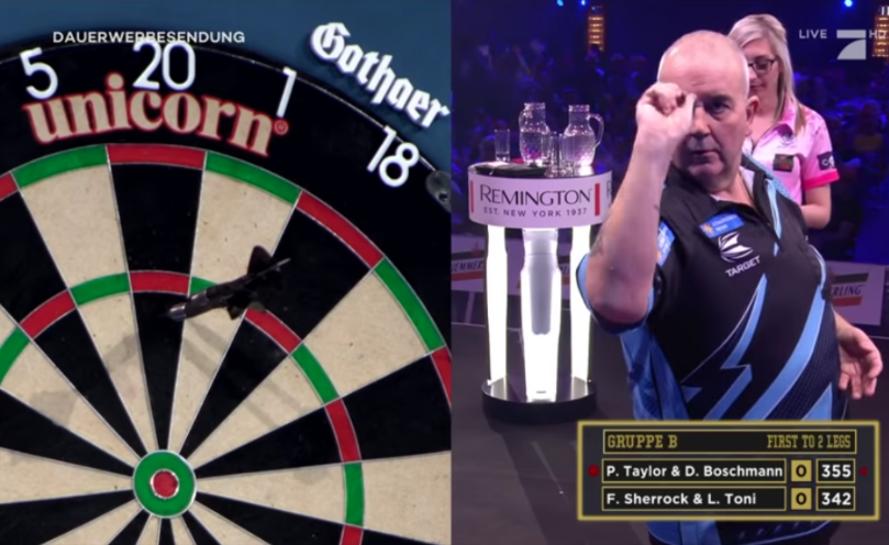Fallon Sherrock Beats Phil Taylor At Promi Darts WM 2020