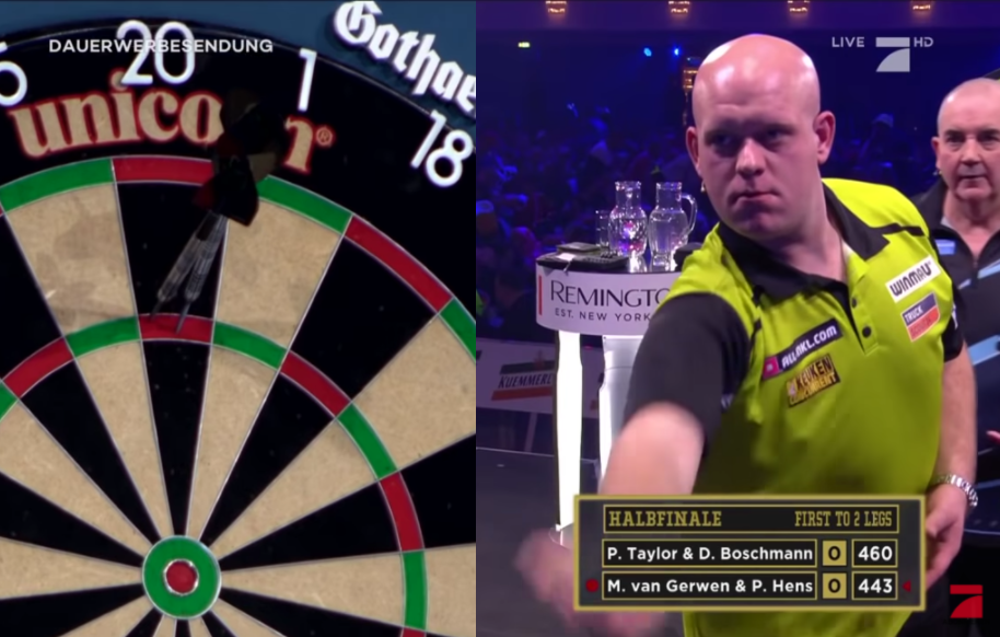 Watch Van Gerwen vs Taylor And Promi Darts WM 2020 Final