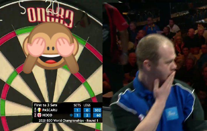 Justin Hood Had Never Before Seen Bust At BDO World Championship 🙈