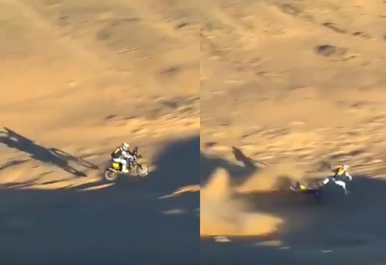 Adrien van Beveren Crashed Hard And Is Out Of Dakar 2020