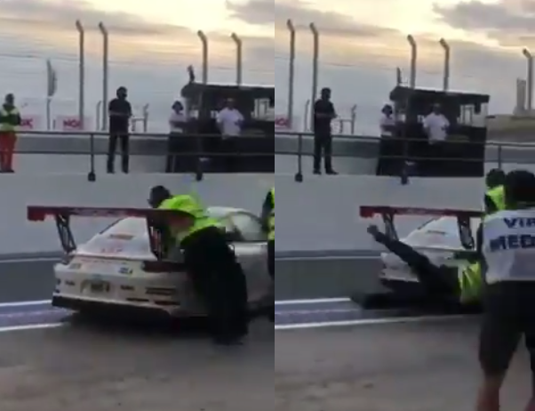 VIDEO: This Bizarre Incident Happened Today During Dubai 24
