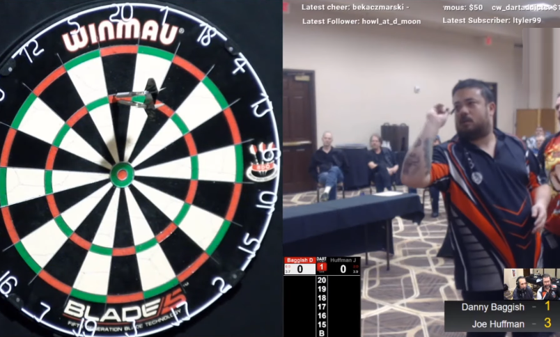 Danny Baggish Throws Best Leg Of Steel Darts Cricket Ever Seen On Video