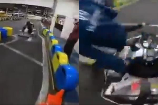 VIDEO: These Guys Show Most Epic Way To Do A Driver Change