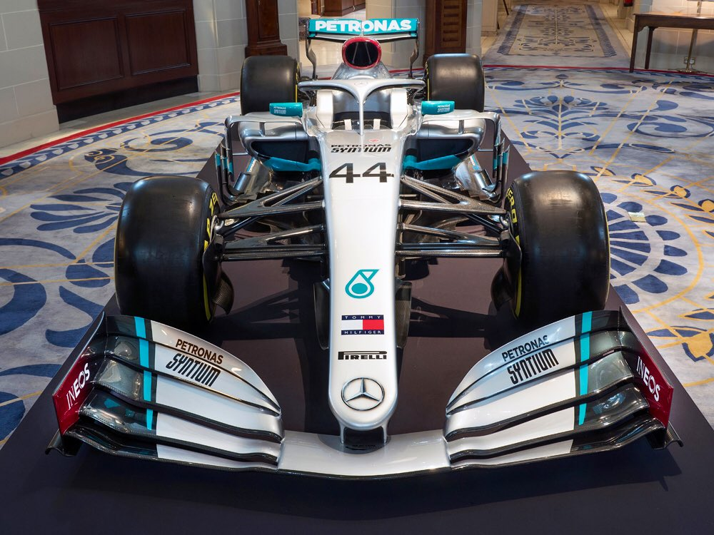 F1 Mercedes Revealed Their F1 2020 Livery Today ...