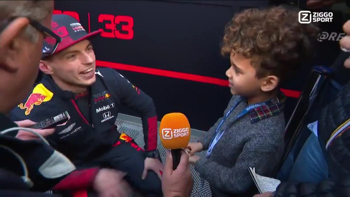 VIDEO: Max Verstappen's Adorable Meeting With A Young Fan