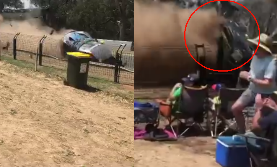 VIDEO: This Shocking Crash Happened During Bathurst 12 Hour