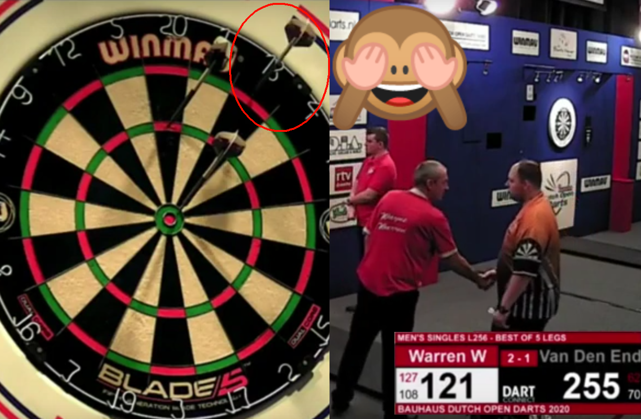 VIDEO: Wayne Warren Thought He Won The Match With 121 Checkout 🙈