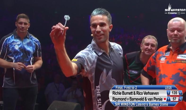 Watch BarneyDome Final:Van Barneveld/Van Persie vs Burnett/Verhoeven