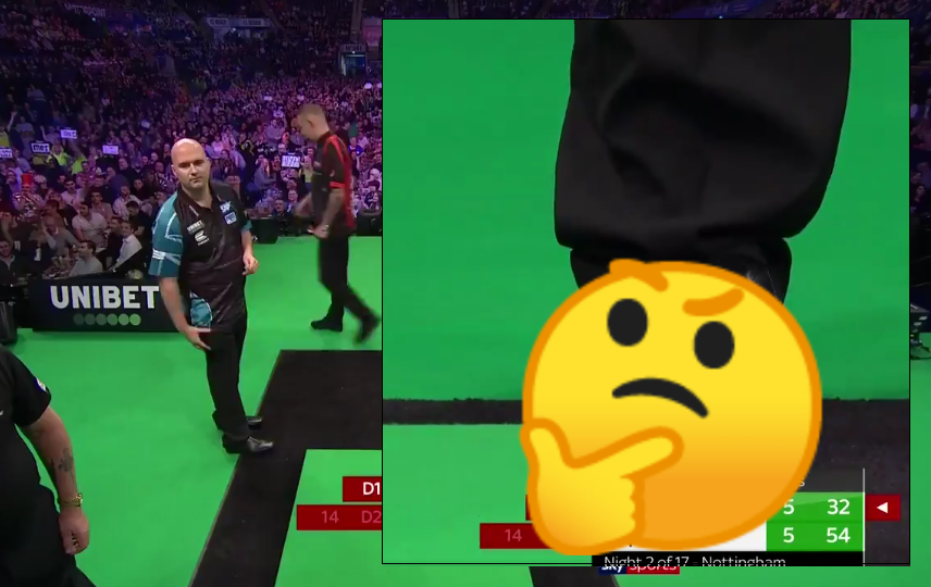 VIDEO: Rob Cross Secures Himself A Point With Brilliant or Illegal Shot?