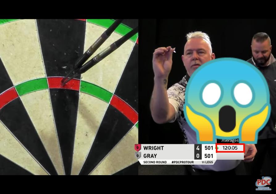 Peter Wright Had A Shot At New World Record At Players Championship 5