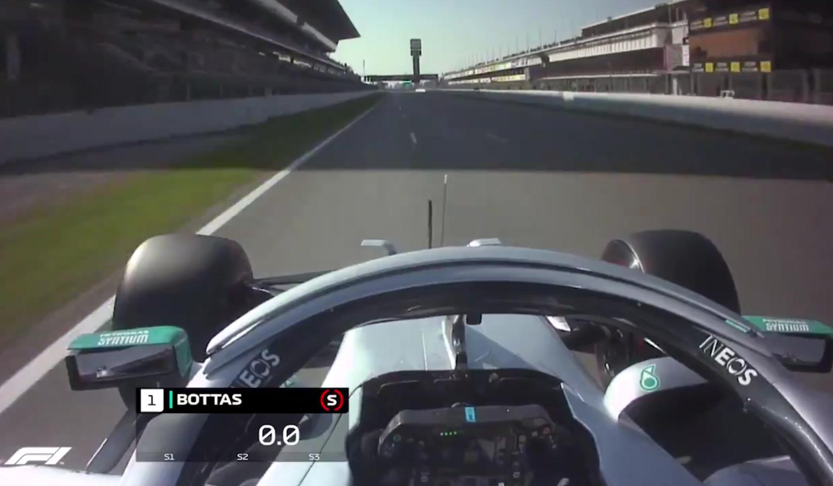 Watch Valtteri Bottas Go Flat Out In Fastest Lap Barcelona Test Week 1