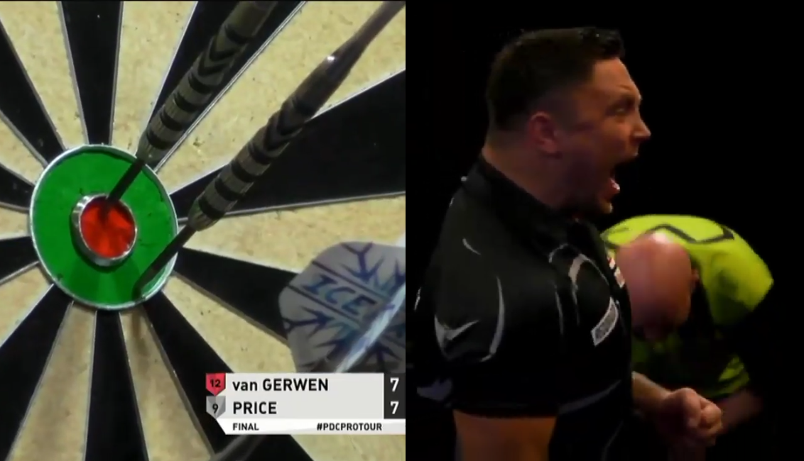 VIDEO: Gerwyn Price Beats Michael van Gerwen With Incredible Checkout