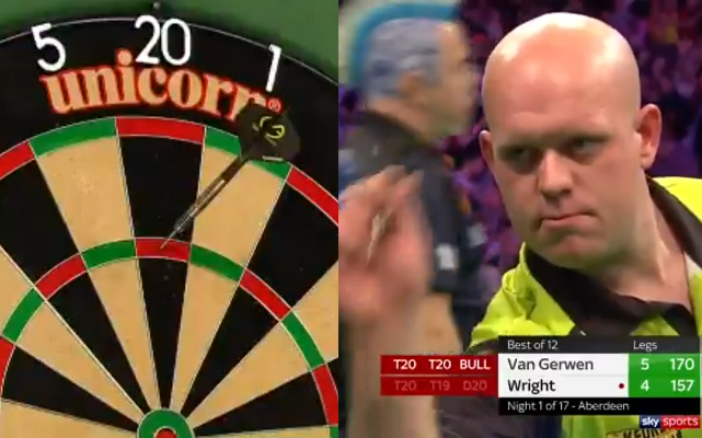 Michael van Gerwen & Peter Wright Hit 6 Massive Checkouts