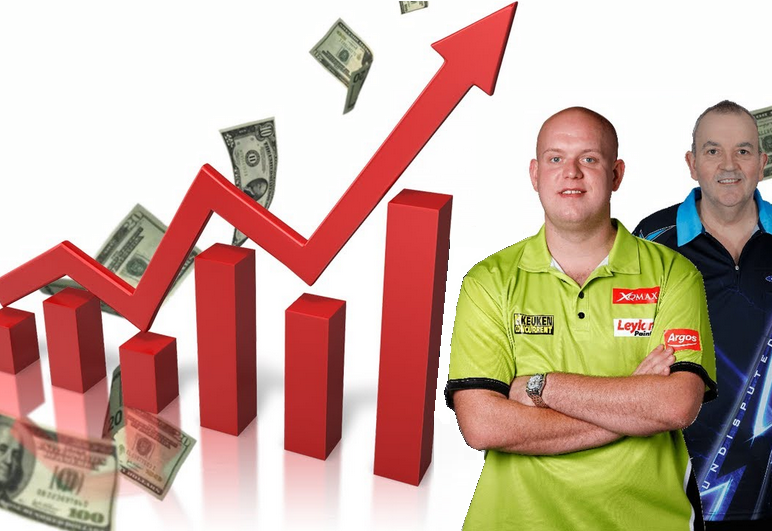 Prize Money Battle: Phil Taylor vs Michael van Gerwen