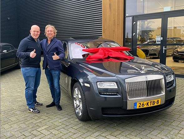 Michael van Gerwen Bought This Exclusive Rolls Royce Ghost