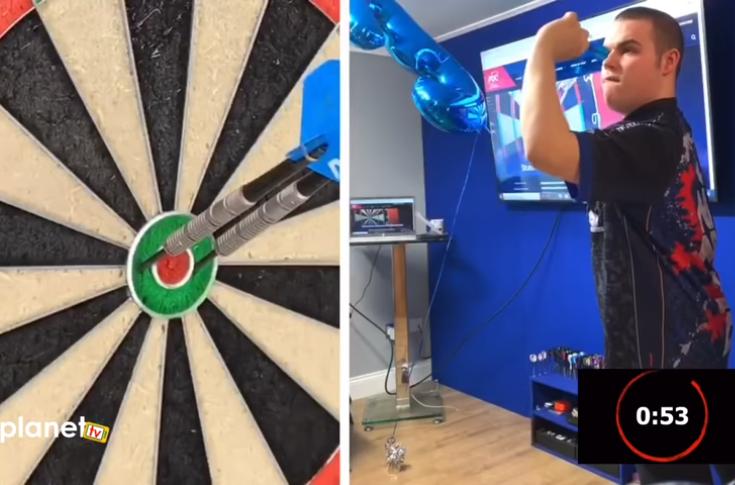 DartsPlanet Introducing: 60 Seconds Bulls-Eye Challenge