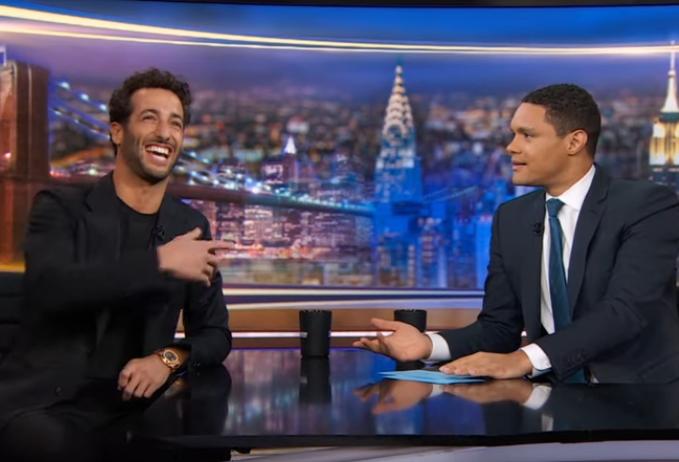 VIDEO: Daniel Ricciardo On The Daily Show With Trevor Noah