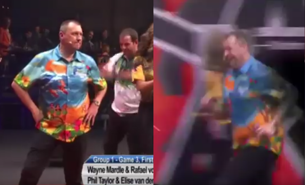 Wayne Mardle Does His Celebration With Crowd But There Was An Issue 😅