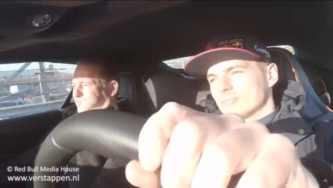 VIDEO: Max Verstappen Takes His Father For A Lap Around Zandvoort
